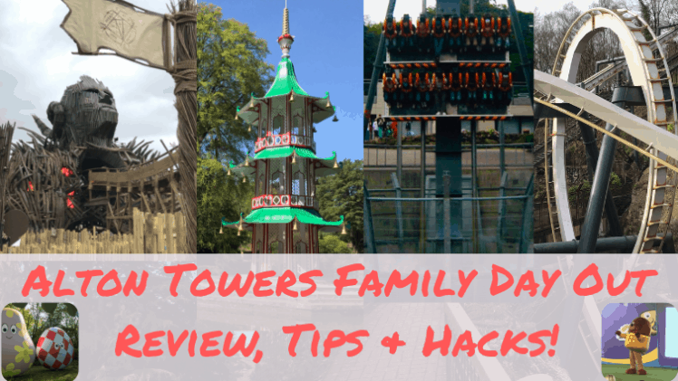 Alton Towers Family Day Out