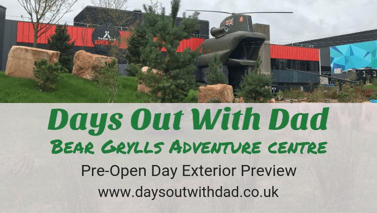 Bear Grylls Adventure Centre Birmingham Pre-Opening Quick Look